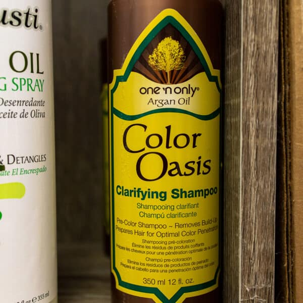 One n only Color Oasis clarifying shampoo product for aftercare after lice removal
