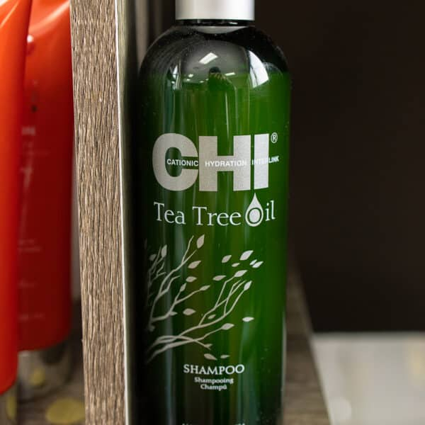 Chi cationic hydration tea tree oil shampoo for aftercare with lice removal